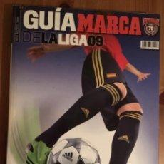Coleccionismo deportivo: GUÍA DE LA LIGA MARCA 2009. Lote 145926290