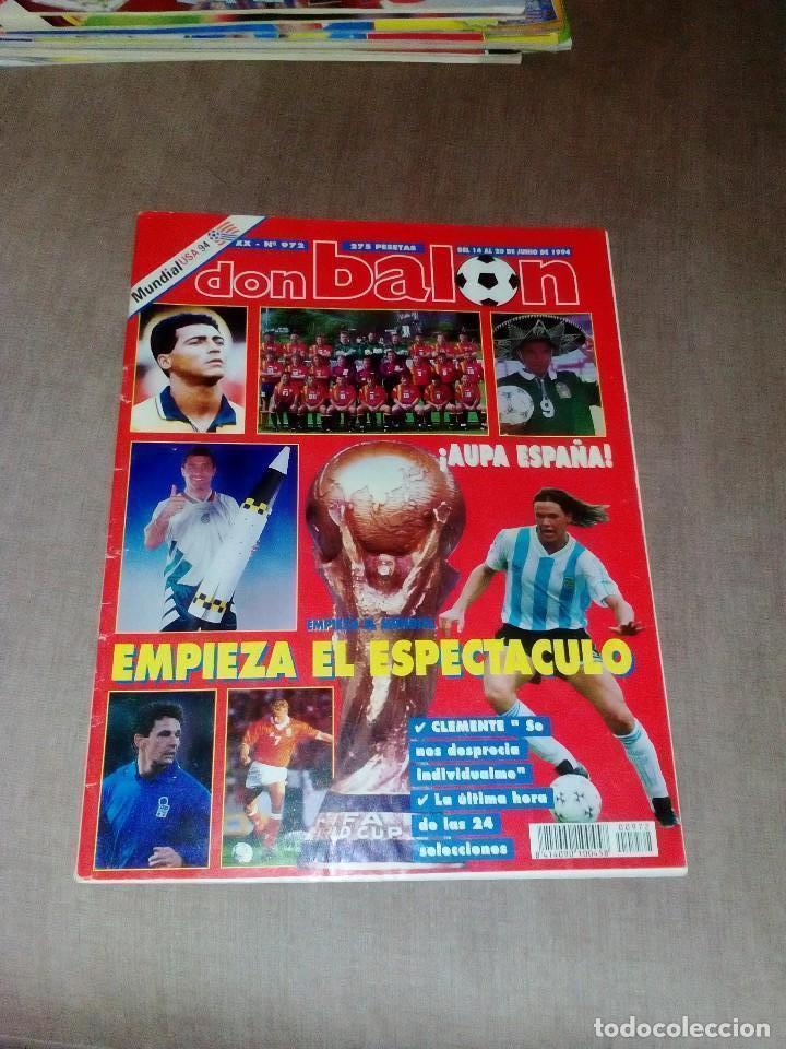 REVISTA DON BALÓN Nº 972 (Coleccionismo Deportivo - Revistas y Periódicos - Don Balón)