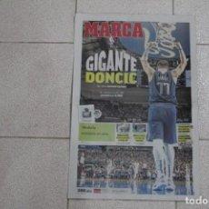 Coleccionismo deportivo: DIARIO MARCA. 30/12/2018 GIGANTE DONCIC. CONTIENE EL SUPLEMENTO PRIMERA PLANA.. Lote 146122642