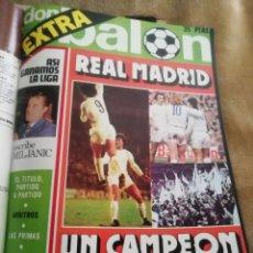 Coleccionismo deportivo: DON BALON. 1975. EXTRA REAL MADRID CAMPEÓN LIGA.. Lote 146173022