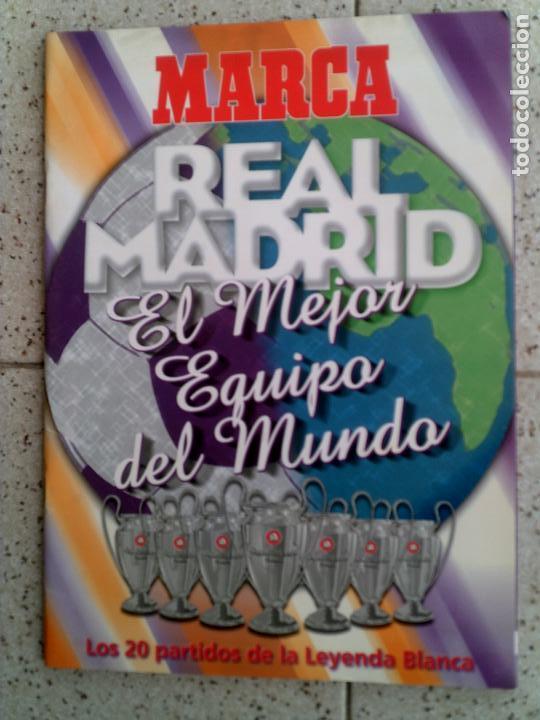 REVISTA MARCA DEL REAL MADRID ILUSTRADA FOTOGRAFIAS (Coleccionismo Deportivo - Revistas y Periódicos - Marca)