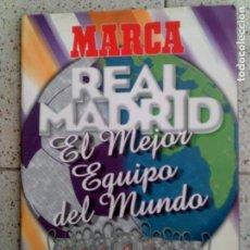 Coleccionismo deportivo: REVISTA MARCA DEL REAL MADRID ILUSTRADA FOTOGRAFIAS. Lote 146282066