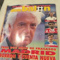 Coleccionismo deportivo: REVISTA DON BALON NÚMERO 868 1992 MENDOZA. Lote 146298266