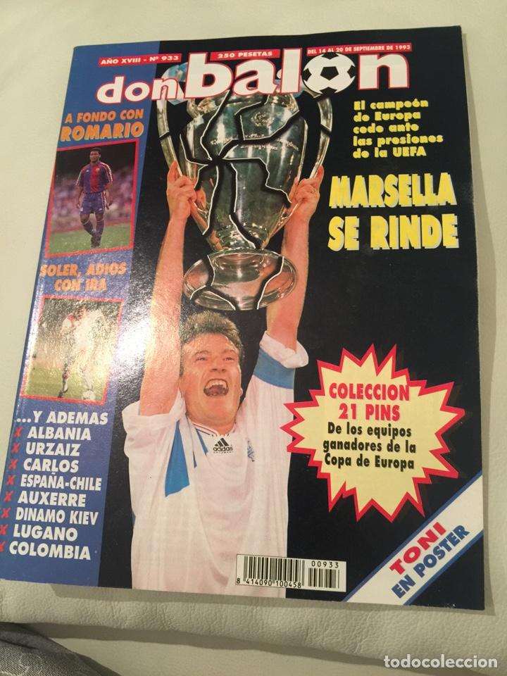REVISTA DON BALON NÚMERO 933 (Coleccionismo Deportivo - Revistas y Periódicos - Don Balón)