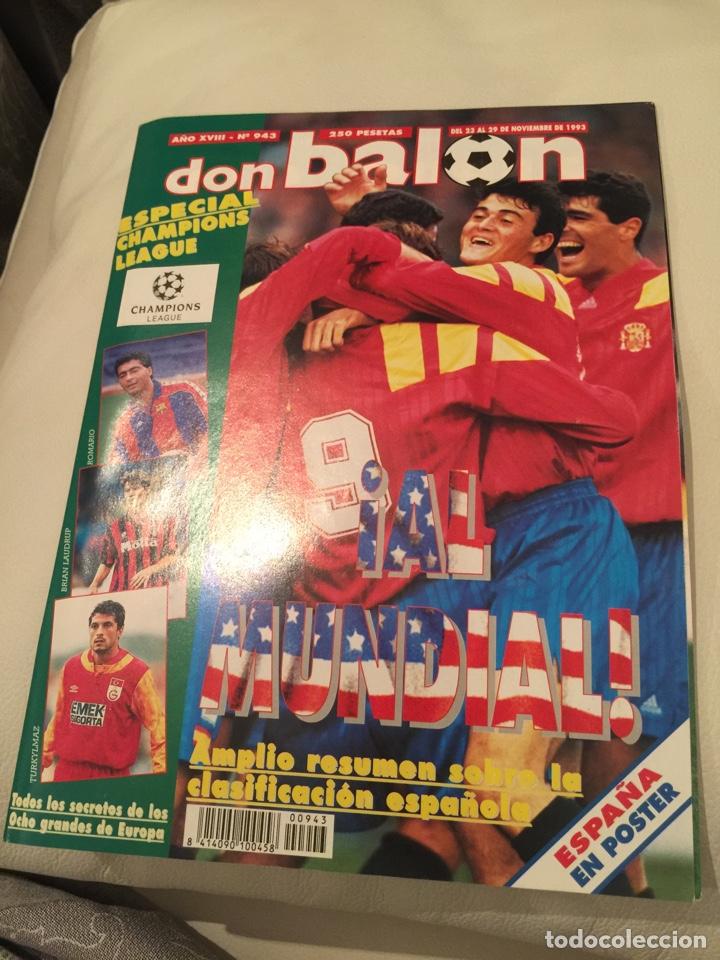 REVISTA DON BALON NÚMERO 943 (Coleccionismo Deportivo - Revistas y Periódicos - Don Balón)