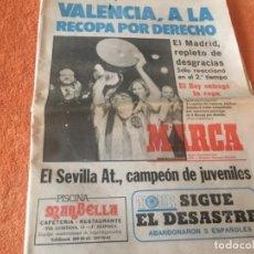 Coleccionismo deportivo: PERIODICO MARCA VALENCIA CAMPEÓN DE COPA 1979. Lote 146363342