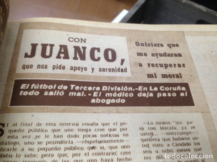 Coleccionismo deportivo: ANTIGUO TOMO PERIODICO DEPORTIVO SEMANARIO MARCA DESDE JUNIO 1949 HASTA AGOSTO 1950 - Foto 8 - 86574488
