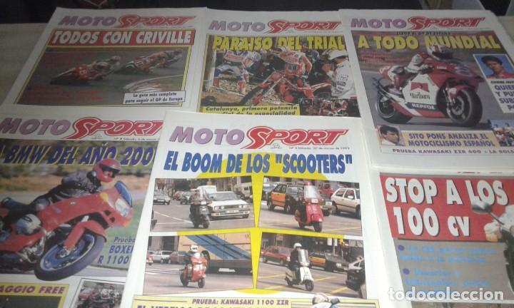 REVISTAS MOTO SPORT AÑO 93 (Coleccionismo Deportivo - Revistas y Periódicos - Sport)