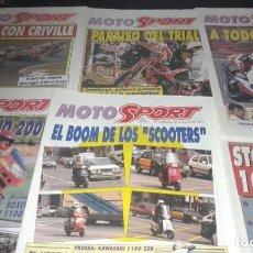 Coleccionismo deportivo: REVISTAS MOTO SPORT AÑO 93. Lote 146417794