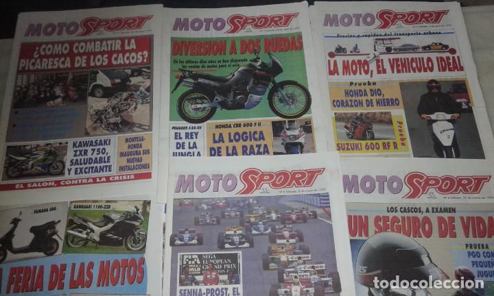 Coleccionismo deportivo: Revistas Moto sport año 93 - Foto 2 - 146417794