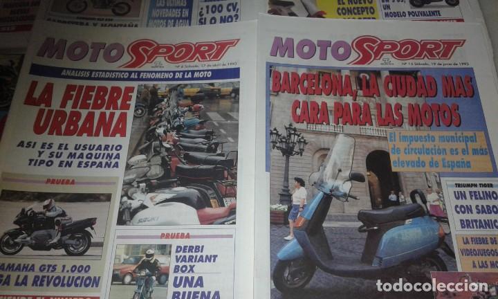 Coleccionismo deportivo: Revistas Moto sport año 93 - Foto 3 - 146417794