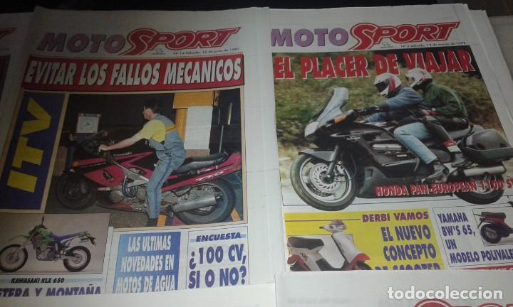 Coleccionismo deportivo: Revistas Moto sport año 93 - Foto 4 - 146417794