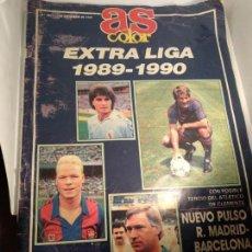 Coleccionismo deportivo: AS COLOR. Nº 186. EXTRA LIGA 1989 - 1990.. Lote 146621798