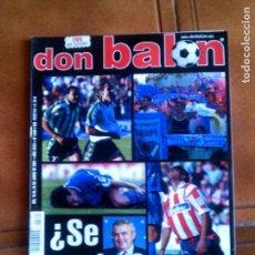 Coleccionismo deportivo: REVISTA DON BALON ,N1340 DE 2001 COMPLETA CON POSTER. Lote 146650862