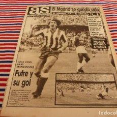 Coleccionismo deportivo: AS(19-10-87)AT.MADRID1 MURCIA 0,RAYO 4 JEREZ 1,ALCALÁ1 DAIMIEL 0,IVIC(OPORTO). Lote 147046406