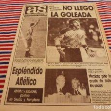 Coleccionismo deportivo: AS(14-12-87)!! FINAL INTERCONTINENTAL OPORTO 2 PEÑAROL 1 !!!R.MADRID 2 CELTA 0 ,RAYO 1 LERIDA 0,. Lote 147053842