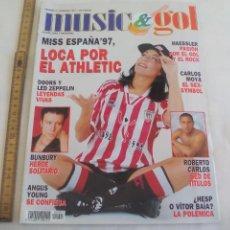 Coleccionismo deportivo: MUSIC & GOL. NÚMERO 3 Nº. 1997. FUTBOL, SEXO Y ROCK & ROLL. Lote 147075242