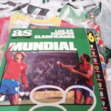 Coleccionismo deportivo: MUNDIAL 82. GUÍA ESPECIAL. SEGUIMIENTO. AS COLOR.. Lote 147406544