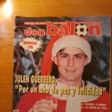 Colecionismo desportivo: DON BALON 1002 ENTREGA BALON ORO STOICHKOV POSTER Y FOTOS ALINEACION BARCELONA FREIBURG MILAN. Lote 147590266