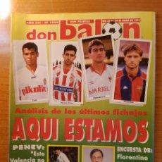 Coleccionismo deportivo: DON BALON 1006 FICHAS Y POSTER CELTA DE VIGO ESPAÑA VS URUGUAY PENEV VALENCIA SOUTHAMPTON. Lote 147593362
