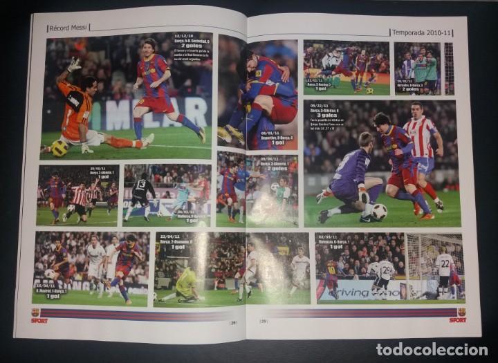Coleccionismo deportivo: Revista Sport. Eterno Messi, bate el record de Zarra. Noviembre 2014, nuevo - Foto 4 - 147623118