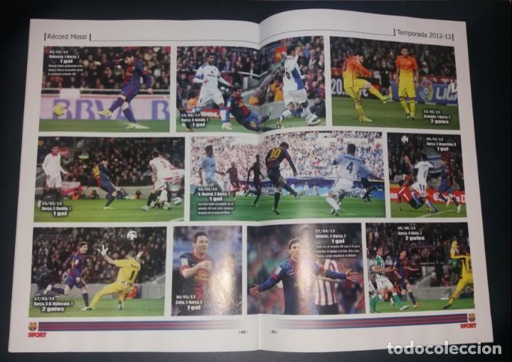 Coleccionismo deportivo: Revista Sport. Eterno Messi, bate el record de Zarra. Noviembre 2014, nuevo - Foto 5 - 147623118
