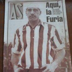 Coleccionismo deportivo: SUPLEMENTO DE AS DE LA HISTORIA DE LOS MUNDIALES EN PAPEL PERIÓDICO GRUESO HASTA USA 1994. Lote 147742681