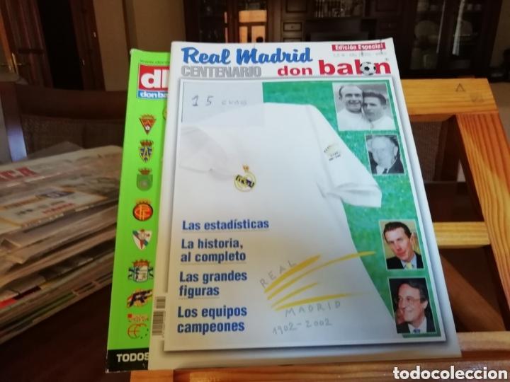 Coleccionismo deportivo: Don balon. Excelente lote revistas y extras. Recopilación cronológica . JOYA HISTÓRICA. - Foto 2 - 147940088