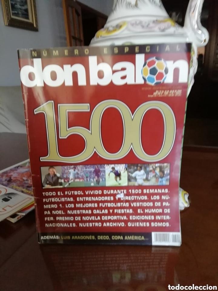 Coleccionismo deportivo: Don balon. Excelente lote revistas y extras. Recopilación cronológica . JOYA HISTÓRICA. - Foto 3 - 147940088