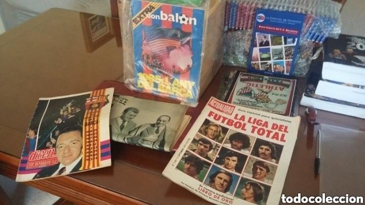 Coleccionismo deportivo: Don balon. Excelente lote revistas y extras. Recopilación cronológica . JOYA HISTÓRICA. - Foto 5 - 147940088