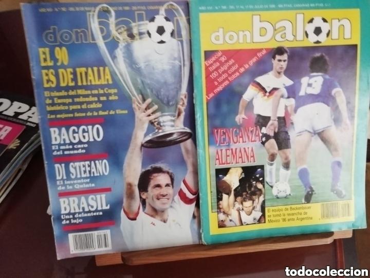 Coleccionismo deportivo: Don balon. Excelente lote revistas y extras. Recopilación cronológica . JOYA HISTÓRICA. - Foto 7 - 147940088
