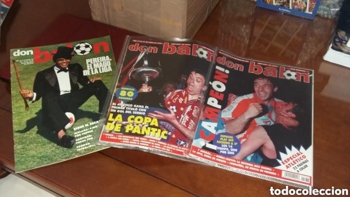 Coleccionismo deportivo: Don balon. Excelente lote revistas y extras. Recopilación cronológica . JOYA HISTÓRICA. - Foto 9 - 147940088