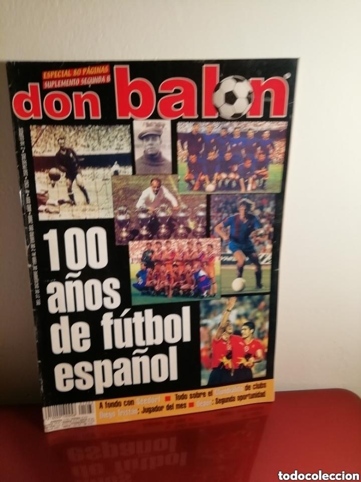 Coleccionismo deportivo: Don balon. Excelente lote revistas y extras. Recopilación cronológica . JOYA HISTÓRICA. - Foto 12 - 147940088