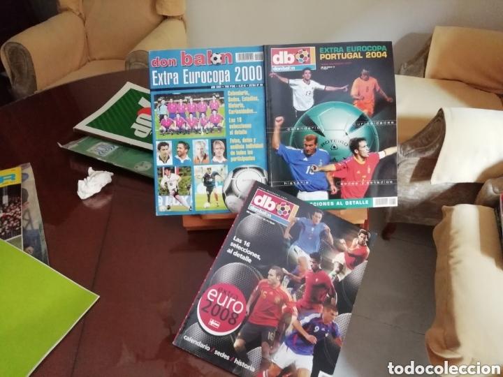 Coleccionismo deportivo: Don balon. Excelente lote revistas y extras. Recopilación cronológica . JOYA HISTÓRICA. - Foto 14 - 147940088