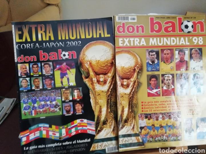 Coleccionismo deportivo: Don balon. Excelente lote revistas y extras. Recopilación cronológica . JOYA HISTÓRICA. - Foto 17 - 147940088