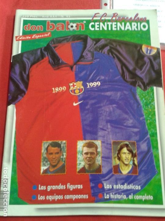 Coleccionismo deportivo: Don balon. Excelente lote revistas y extras. Recopilación cronológica . JOYA HISTÓRICA. - Foto 21 - 147940088