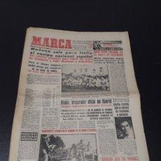 Coleccionismo deportivo: MARCA 25/02/1959. ITALIA V ESPAÑA. CELTA PINTOS LYON REIMS AT.MADRID CALLEJA.. Lote 148026237