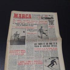 Coleccionismo deportivo: MARCA 26/02/1959. ITALIA V ESPAÑA SEVILLA ARZA PATRICK O'CONNELL.. Lote 148026518