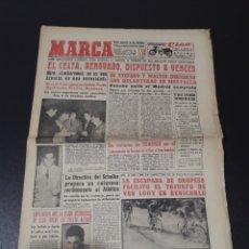 Coleccionismo deportivo: MARCA 14/03/1959. AT.MADRID CELTA VALLADOLID BARINAGA ULACIA.. Lote 148030942