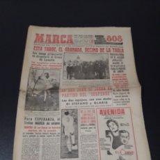 Coleccionismo deportivo: MARCA 25/01/1959. GRANADA R.MADRID DI STEFANO OSASUNA MANCHESTER UTD.. Lote 148031280