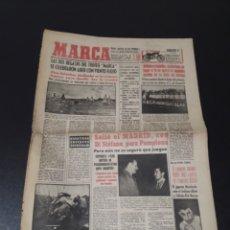 Coleccionismo deportivo: MARCA 24/01/1959. AT.MADRID SCHALKE 04 RALLY MONTECARLO BOXEO MANOLO GARCIA AT.MADRID ALVARITO.. Lote 148031756