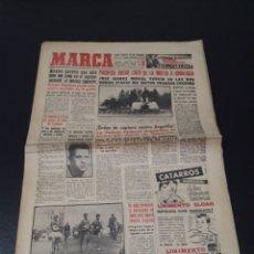 Coleccionismo deportivo: MARCA 4/02/1959. HERIBERTO HERRERA BILBAO V BARCELONA CICLISMO VUELTA A ANDALUCIA.. Lote 148034354