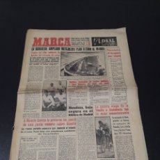 Coleccionismo deportivo: MARCA 6/02/1959. ZARAGOZA V R.MADRID RAYO CANTABRIA PELOTA MIGUEL RODRIGUEZ PICOTE FUTBOL MARSAL.. Lote 148034821