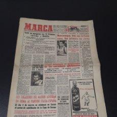 Coleccionismo deportivo: MARCA 7/02/1959. TROFEOS ARRIBA MARCA DI STEFANO PASIEGUITO SABINO.. Lote 148035218