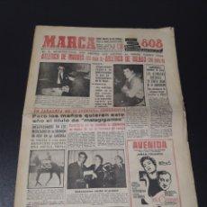Coleccionismo deportivo: MARCA 8/02/1959. MALLORCA,2 - FIRST VIENA,1. BILBAO ATLETICO MADRID BAHOMONTES.. Lote 148035805