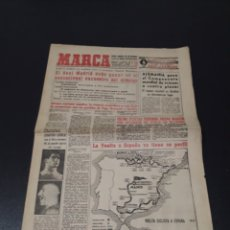 Coleccionismo deportivo: MARCA 11/02/1959. VUELTA A ESPAÑA FUTBOL R.MADRID CELTA BARCELONA ITALIA V ESPAÑA.. Lote 148038053