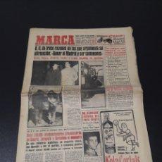 Coleccionismo deportivo: MARCA 14/02/1959. BARCELONA V R.MADRID CORDOBA ELCHE GRANADA KALMAR CICLISMO MIGUEL CHACON.. Lote 148039416