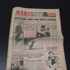 Coleccionismo deportivo: MARCA 15/02/1959. MADRID V BARCELONA. BARACALDO,1 - INDAUCHU,0.. Lote 148039910