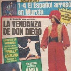 Coleccionismo deportivo: SPORT Nº 1613 - 14 MAYO 1984 - MARADONA - SOTIL. Lote 148161318