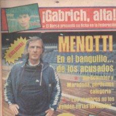 Coleccionismo deportivo: SPORT Nº 1416 - 25 OCTUBRE 1983 - MENOTTI. Lote 148161650
